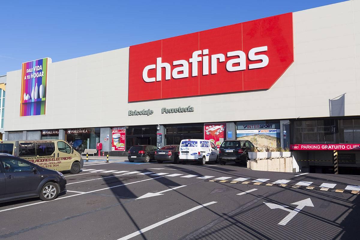 Una de las tiendas de Las Chafiras