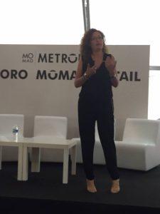 Raquel Gascón en Momadel Gascón en Momad