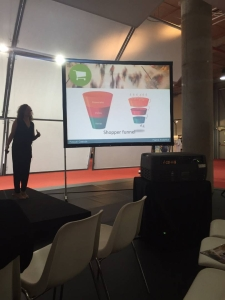 Raquel explica el Shopper Funnel