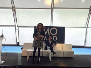 Raquel Gascón habla de wifi tracking en momad