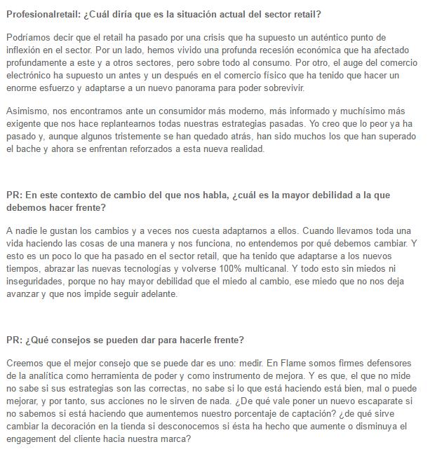 Entrevista a Jonathan Solís en Profesional Retail
